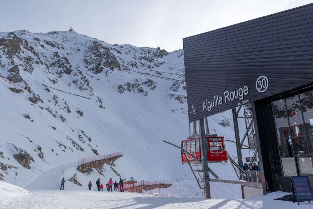 Aiguille Rouge is 100% powered by solar power.