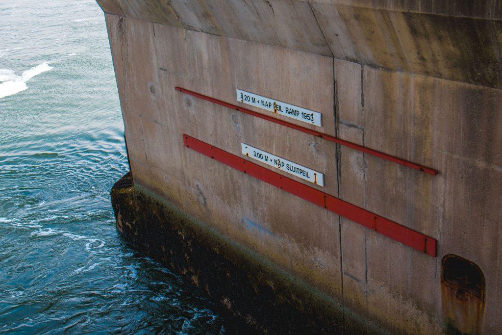 Holland land van water de dam