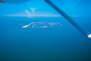 Zelf gemaakte eiland