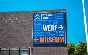 inkom werf museum batavialand holland