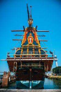 Voorkant Batavia ship