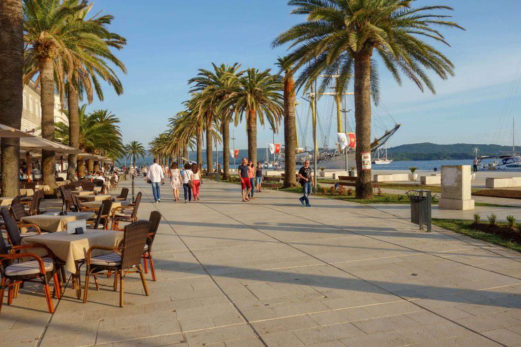 Tivat town Montenegro