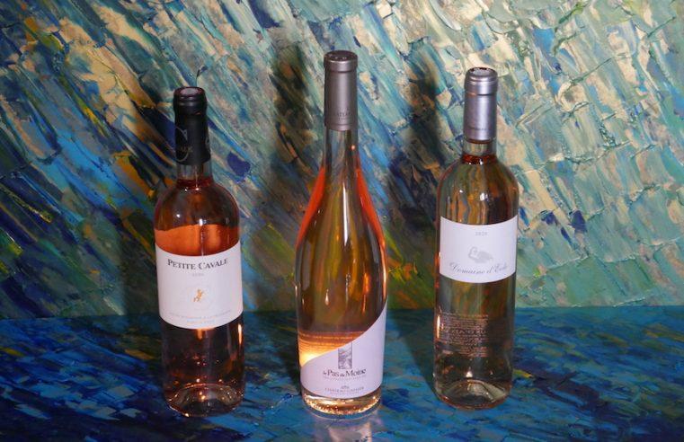 3 cuvées coup de cœur en rosé de Provence