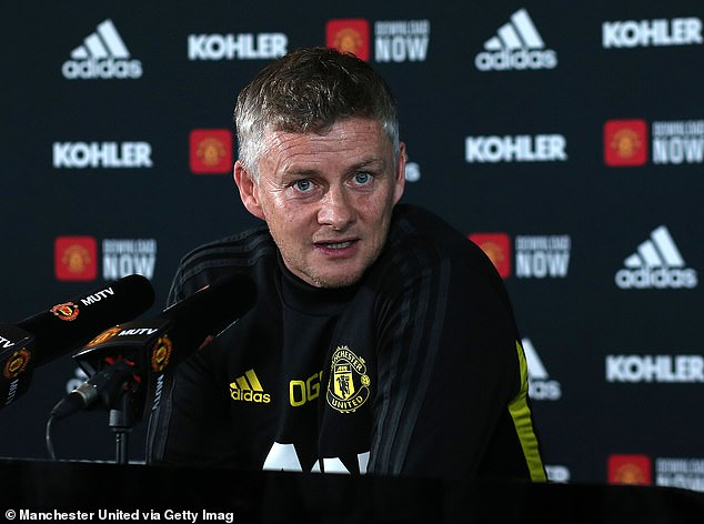 Ole Gunnar Solskjaer aimed a cheeky jibe at Liverpool's 30-year wait to win the league title