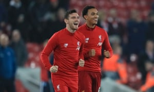 Andrew Robertson and Trent Alexander-Arnold lead Liverpool from the flanks