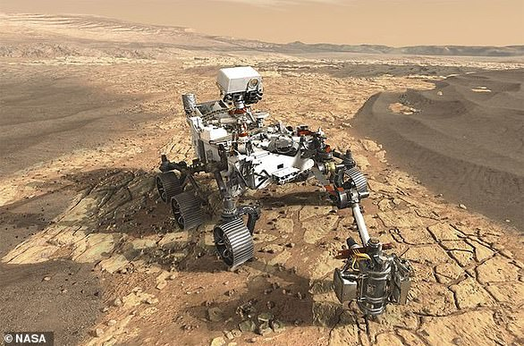 Nasa's Mars 2020 rover (artist's impression) is searching for signs of ancient life on Mars in a bid to help scientists better understand how life evolved on our own planet
