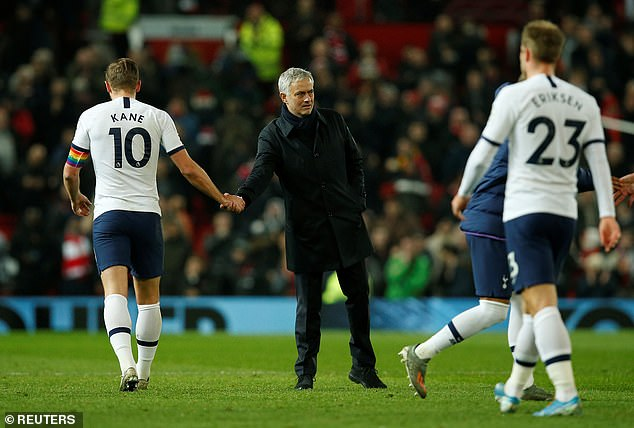 Jose Mourinho believes Tottenham were complacent in their defeat at Manchester United