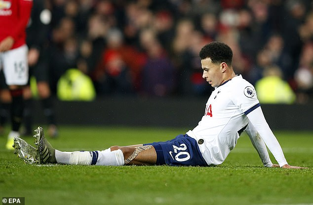 Dele Alli, who scored Spurs' goal in the 2-1 defeat, criticised his side for showing arrogance