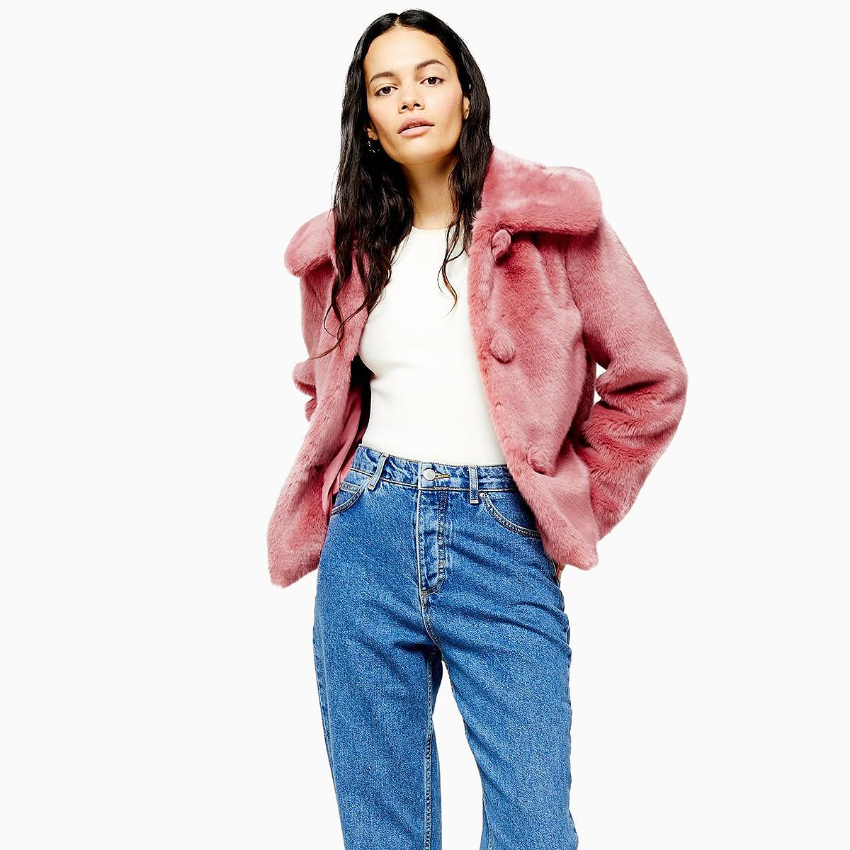 topshop-anne-coat-pink