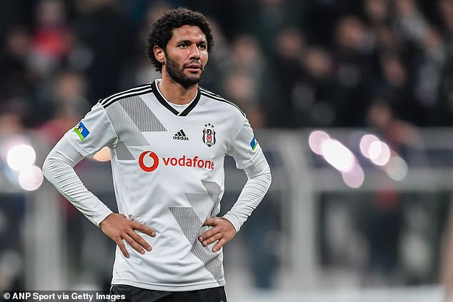 The Egyptian midfielder has spent this season on loan at Besiktas but still talks to Ozil