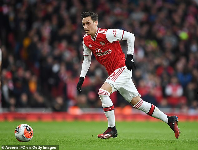 Ozil has remained coy on his future at the Emirates Stadium where his contract runs until 2021