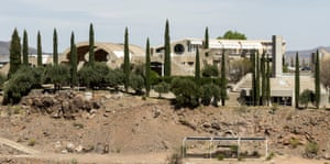 Panoramic of Arcosanti view from the south