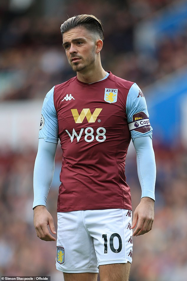 Grealish is the club captain of Aston Villa and has been with his boyhood club since 2001