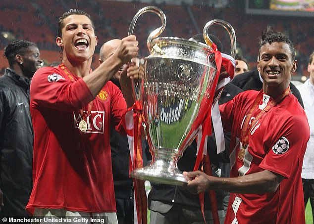 Both players were part of the Manchester United side that won the Champions League in 2008