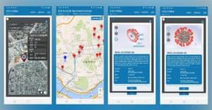 The Corona 100m app from South Korea.