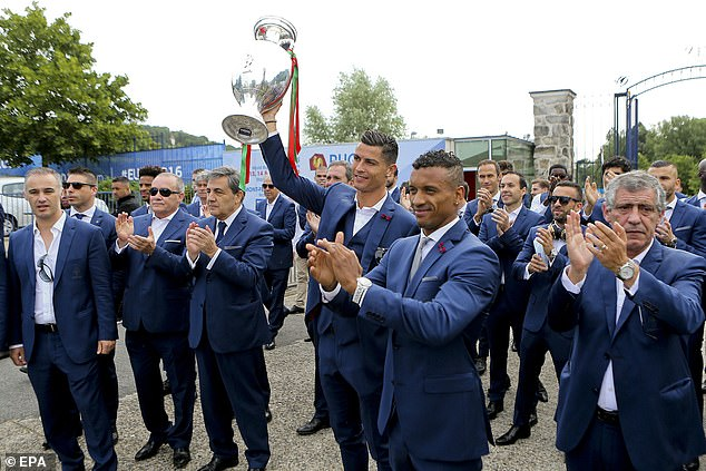 Ronaldo and Nani also shared success at the 2016 European Championships in France