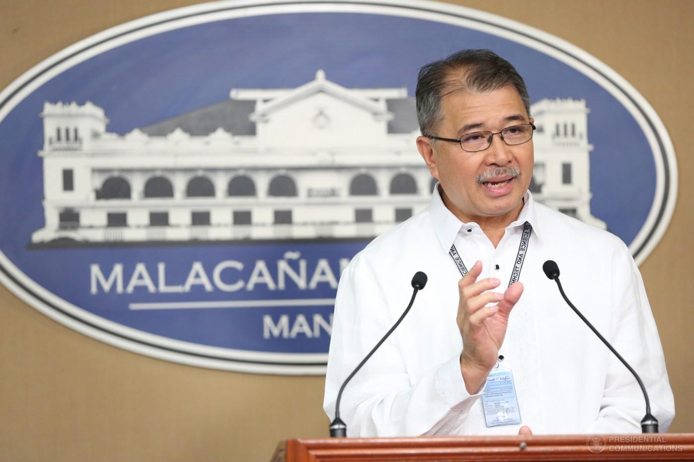 Department of Science and Technology Secretary Fortunato dela Peña (TOTO LOZANO/ Presidential Photo / MANILA BULLETIN)