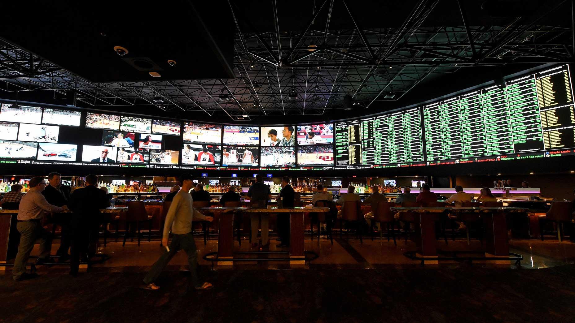 The sportsbook at the Westgate Las Vegas Resort & Casino.