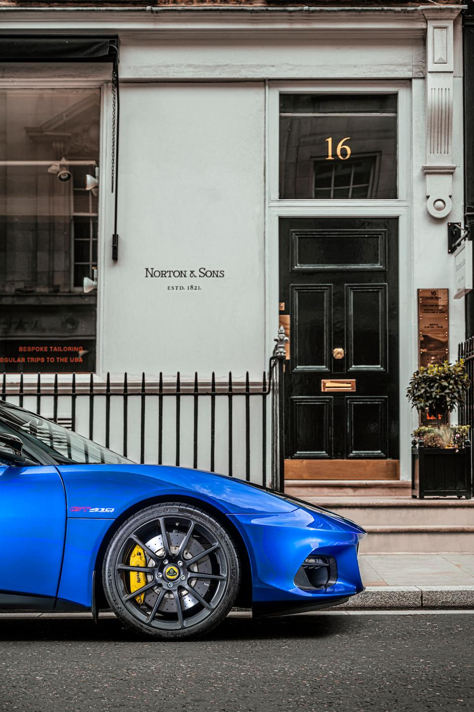Lotus Cars and Norton & Sons will make a clothing line together