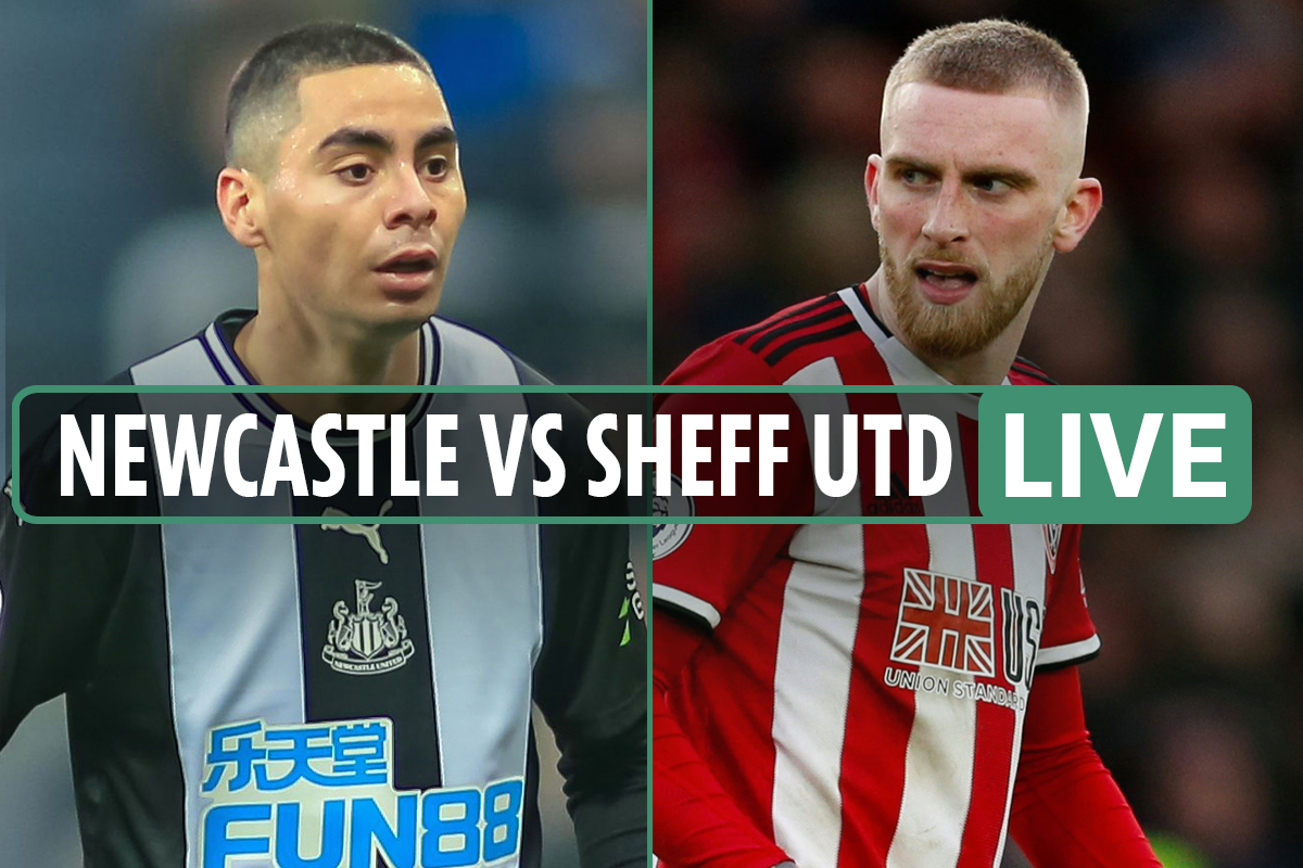 Newcastle vs Sheffield United LIVE: Stream free, TV channel, score, teams and kick-off time for Premier League fixture - Washington latest