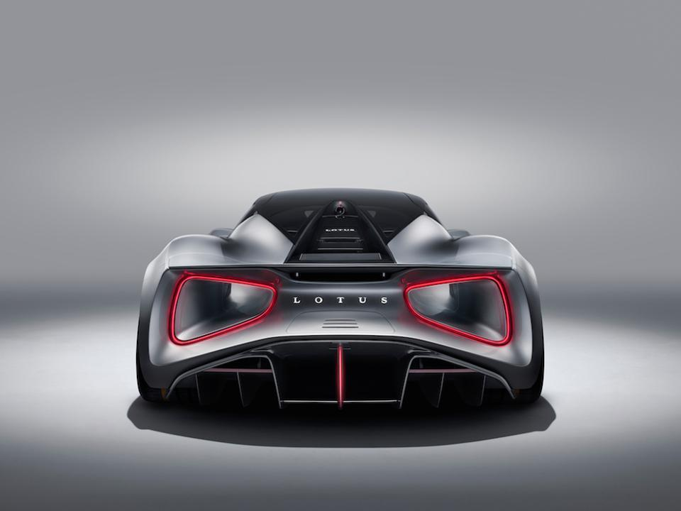 The $2.1m Evija is the first electric hypercar by Lotus