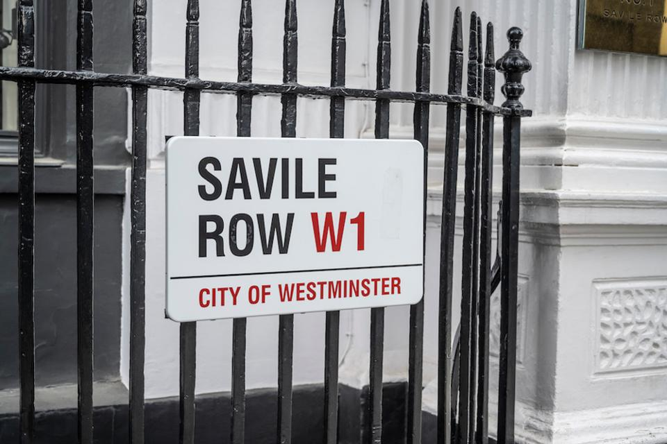 Savile Row in Mayfair, London is one of the most established names for bespoke tailoring
