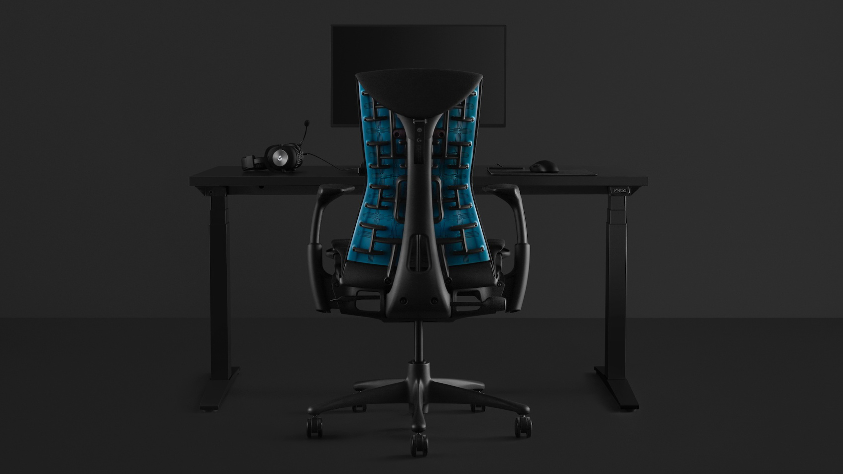 Logitech and Herman Miller's gaming chair will soothe your