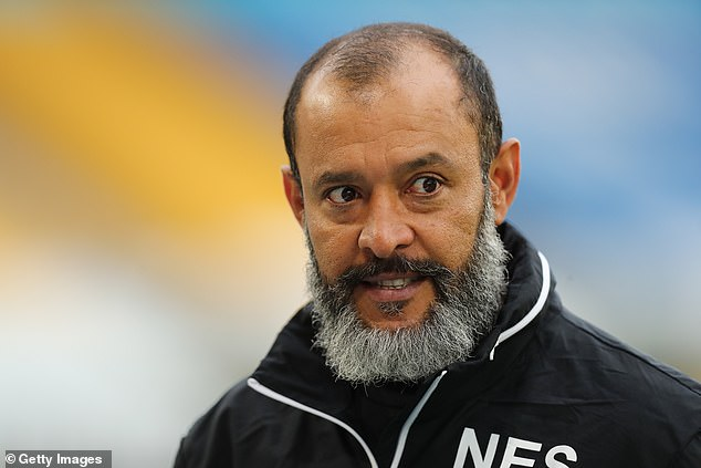 Wolves manager Nuno Espirito Santo is set to sign a new contract that will run until 2023