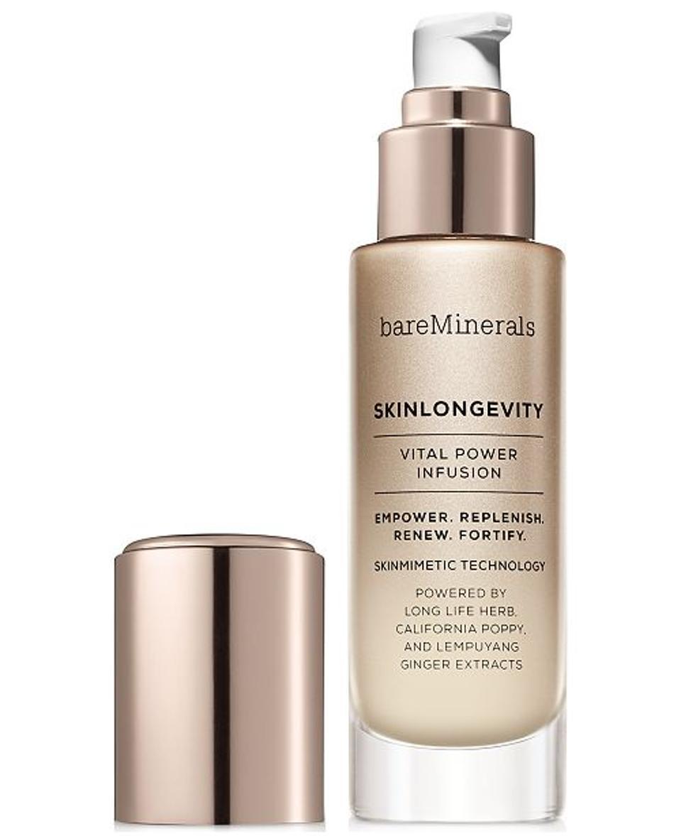 Skinlongevity, bareMinerals' latest skincare launch.