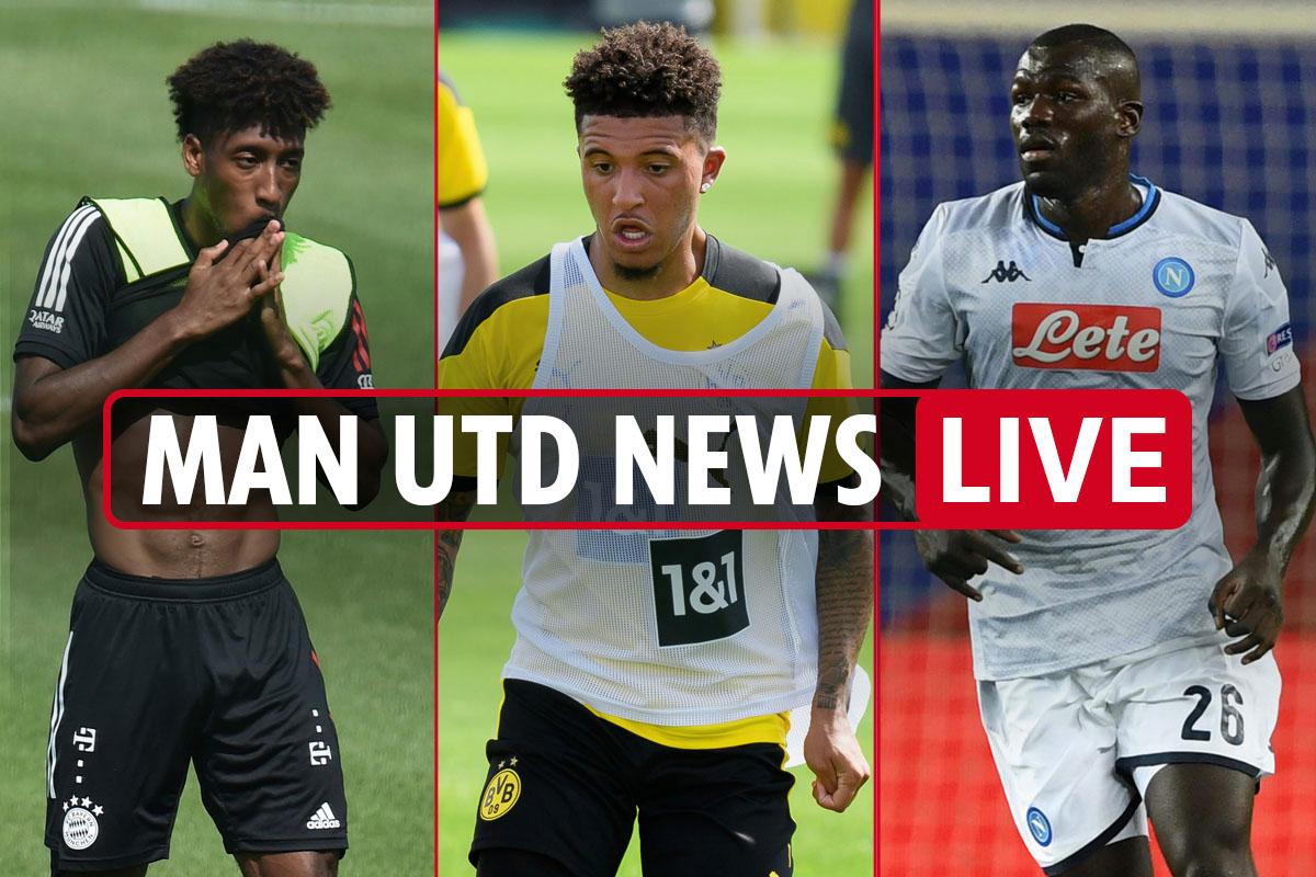 11pm Man Utd Transfer News Live Jadon Sancho Deadline Today Koulibaly Cut Price 63m Deal Coman Loan Wanted Washington Latest