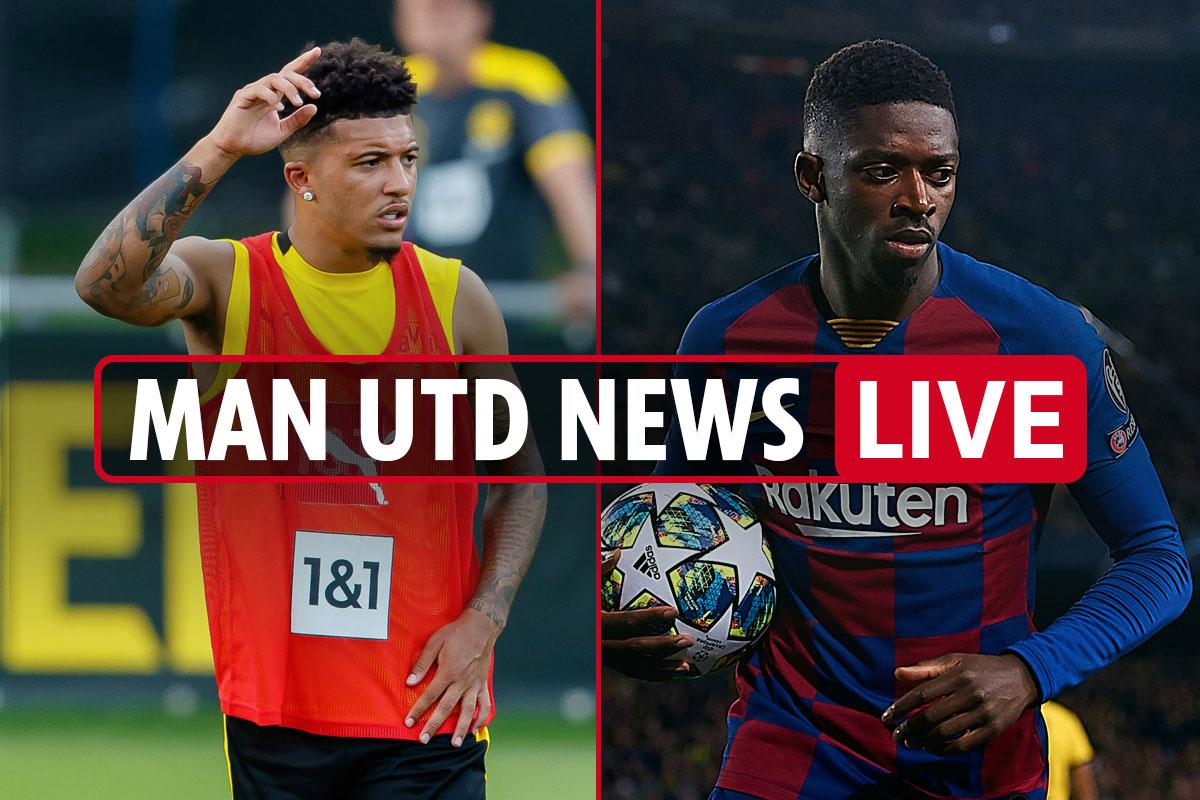 4pm Man Utd Transfer News Live Ousmane Dembele Interest Sancho Remains No1 Target 75m Grealish Talks Washington Latest