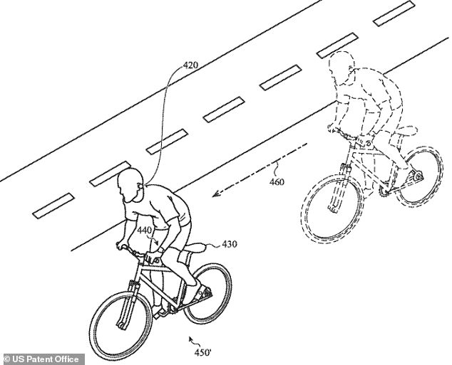A new patent describes a contextual audio system that adjusts audio when it senses hazards, such as traffic or a passing cyclist, in the surrounding area. The document describes the AirPods using the wearer's location and activity to adjust or pause sound, provide advice or instructions