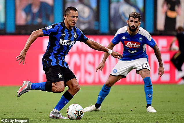 Sanchez has sealed a permanent move to Inter Milan, where he has been on loan in 2019-20