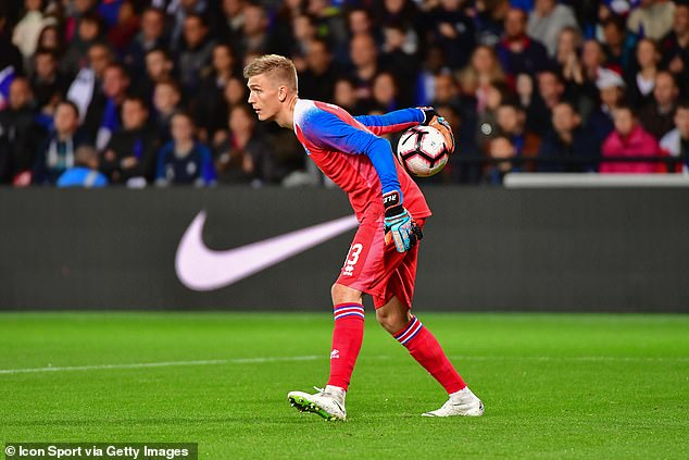 Arsenal have asked about Dijon's Iceland international goalkeeper Runar Alex Runarsson