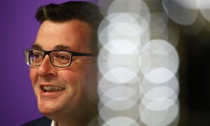 The Victorian premier, Daniel Andrews: 'This is a good day.'