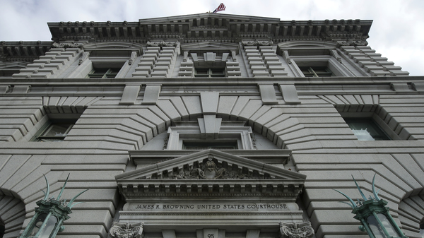 A panel of judges in the U.S. Court of Appeals for the Ninth Circuit, pictured in San Francisco, ruled on Monday that the Trump administration can end humanitarian protections for immigrants from four countries, clearing a path for their eventual deportation.
