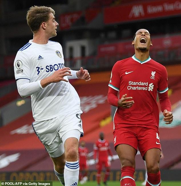 The dreadful error made by Virgil van Dijk typified Liverpool's error-strewn clash versus Leeds