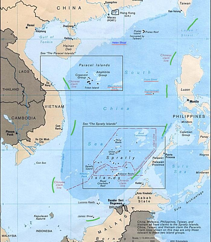 China's claim to the South China Sea can be traced to a 1936 map drawn by Bei Meichu