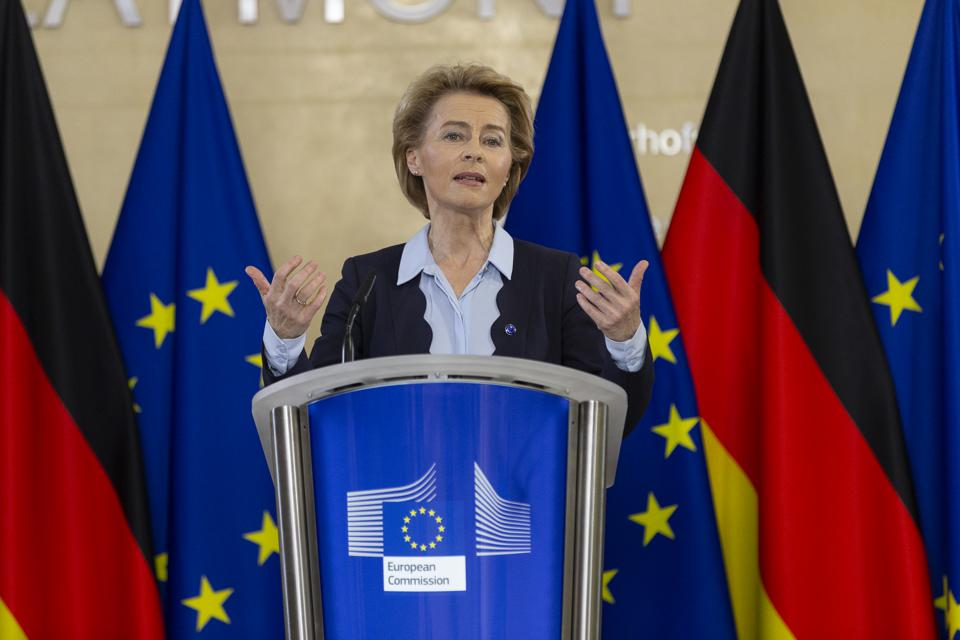 Virtual Press conference for the start of the German Presidency of the European Union