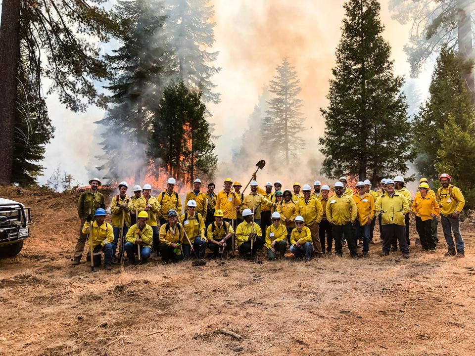 Fire managers for Shaver Lake