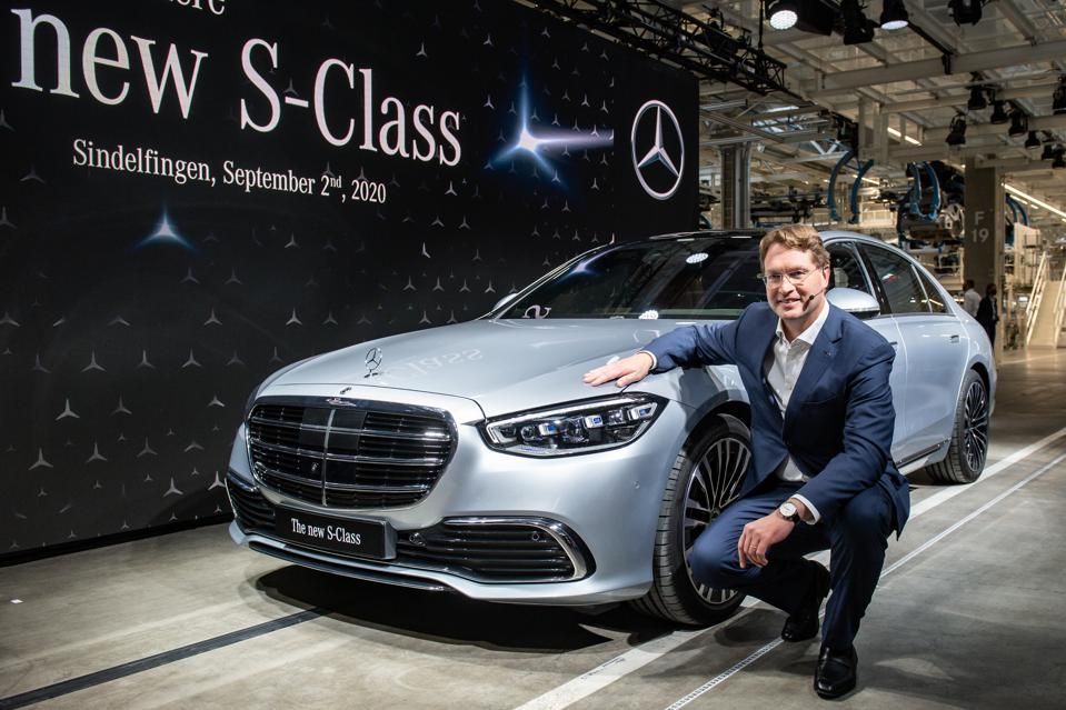 Daimler CEO Ola Kaellenius has writting a check for $2.2 billion to cover emissions cheats he inherited.