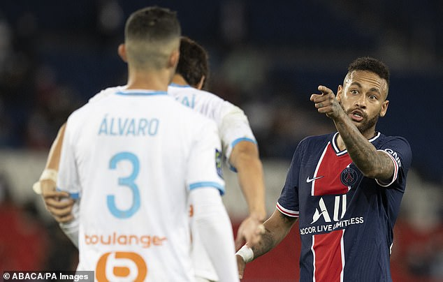 Neymar has called for an end to racist abuse after accusing Alvaro Gonzalez of the offence