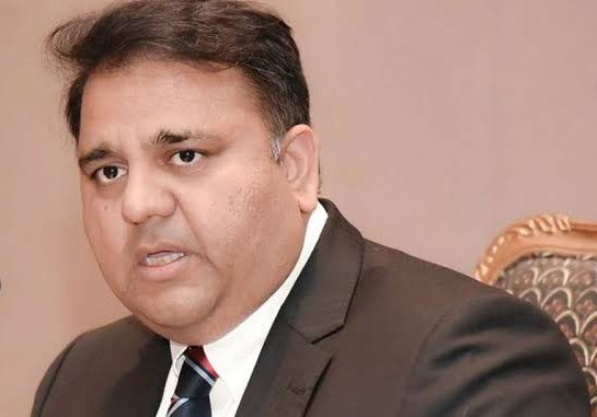 Federal Minister for Science and Technology Fawad Hussain Chaudhary