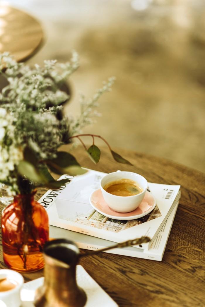 Coffee at 21Grams, Dubai