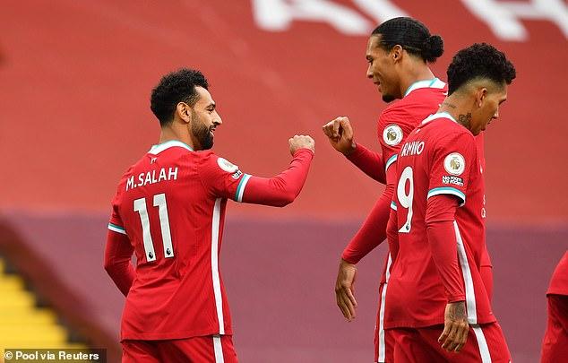 Virgil van Dijk has hit out at those who underrate his Liverpool team-mate Mohamed Salah