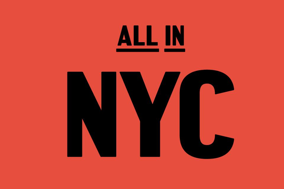 Graphic from All In NYC campaign.