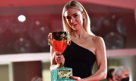 Vanessa Kirby with the best actress for Pieces of a Woman.