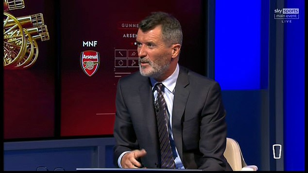 Sky Sports pundit Roy Keane also admitted Lacazette needed to score that crucial chance
