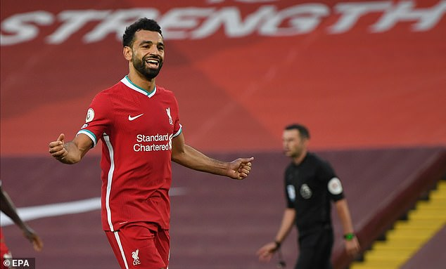 In addition to his goals, Salah's all-round performance against Leeds was of a high standard