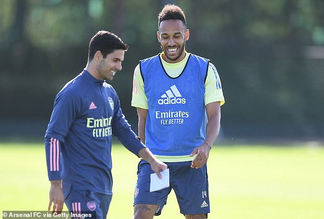But Mikel Arteta has convinced his star striker that his long-term future belongs at Arsenal